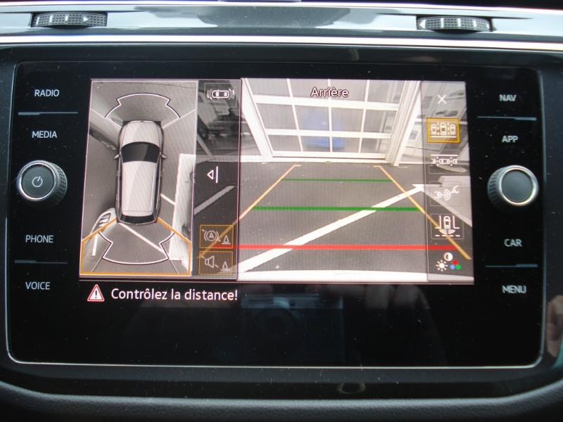 Volkswagen Tiguan 2.0 TDI 150ch R-Line 4Motion DSG7 Argent occasion à Aurillac - photo n°8