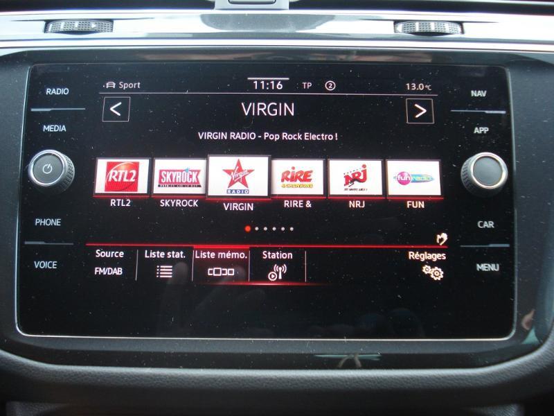 Volkswagen Tiguan 2.0 TDI 150ch R-Line 4Motion DSG7 Argent occasion à Aurillac - photo n°4