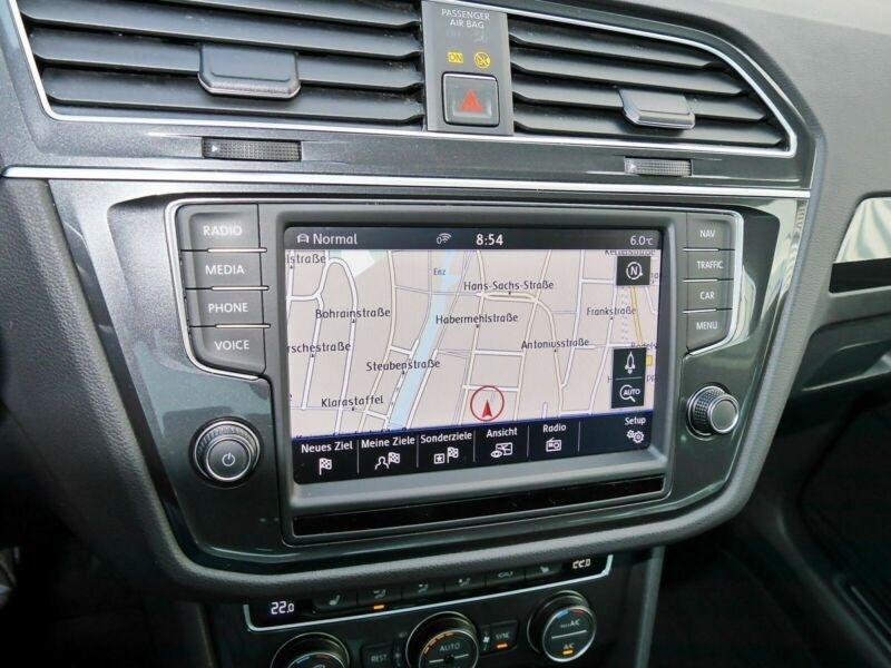 Volkswagen Tiguan 2.0 TDI 190CH BLUEMOTION TECHNOLOGY CARAT 4MOTION DSG7 Blanc occasion à Villenave-d'Ornon - photo n°6