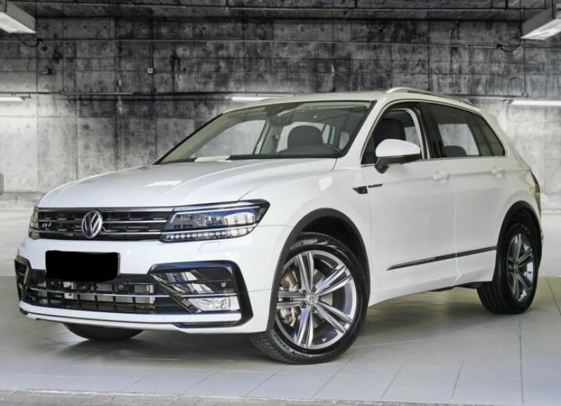 Volkswagen Tiguan 2.0 TDI 190CH BLUEMOTION TECHNOLOGY CARAT 4MOTION DSG7 Blanc occasion à Villenave-d'Ornon