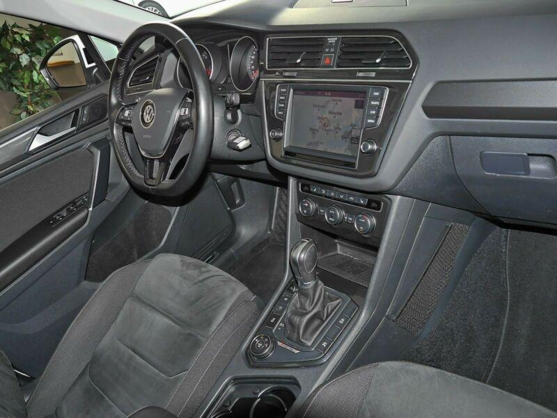 Volkswagen Tiguan 2.0 TDI 190CH BLUEMOTION TECHNOLOGY CARAT 4MOTION DSG7 Blanc occasion à Villenave-d'Ornon - photo n°9