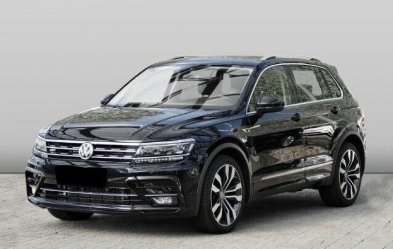 Volkswagen Tiguan 2.0 TDI 190CH CARAT 4MOTION DSG7 Noir occasion à Villenave-d'Ornon