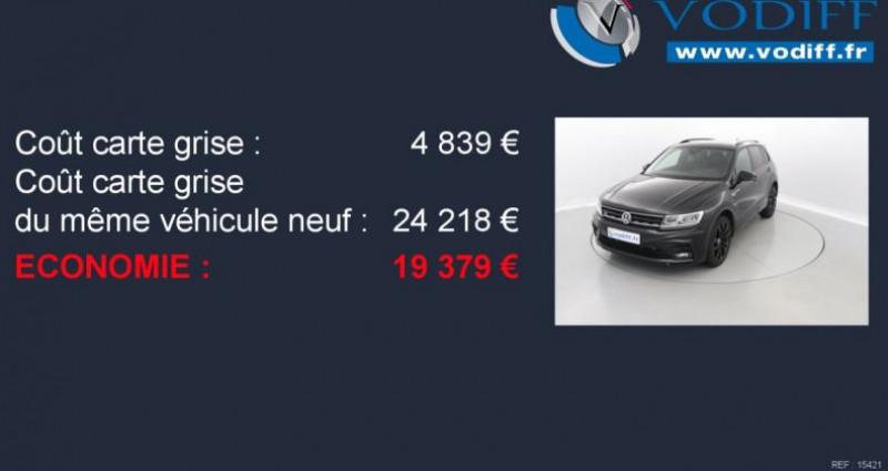 Volkswagen Tiguan 2.0 TSI 230 CV 4-MOTION HIGHLINE DSG Noir occasion à Entzheim - photo n°2