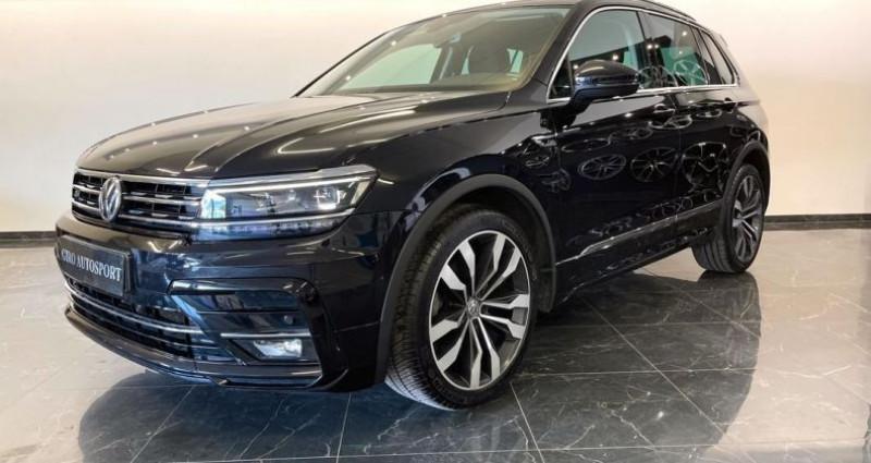 Volkswagen Tiguan 2.0L TDI 150 Rline DSG7 Noir occasion à ARBIN