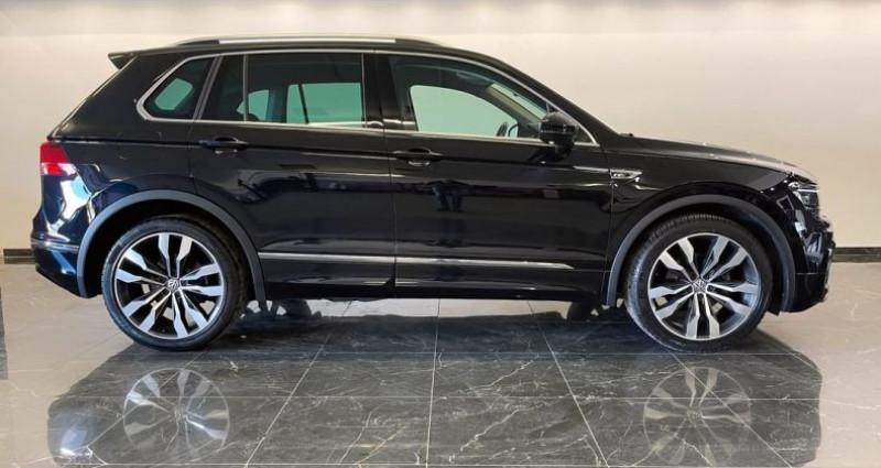 Volkswagen Tiguan 2.0L TDI 150 Rline DSG7 Noir occasion à ARBIN - photo n°2