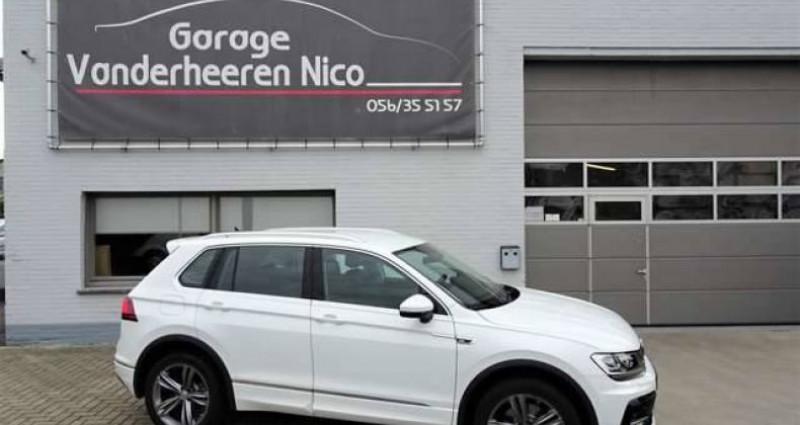 Volkswagen Tiguan 2.0TSi 4Motion R-Line DSG,LED,NAVI,ADAPT.CRUISE Blanc occasion à Kuurne