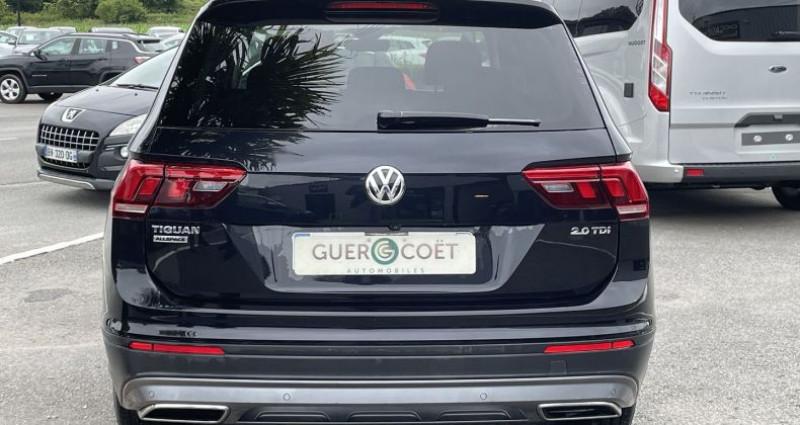 Volkswagen Tiguan ALLSPACE 2.0 TDI 150CH CONFORTLINE BUSINESS DSG7 Noir occasion à GUER - photo n°4