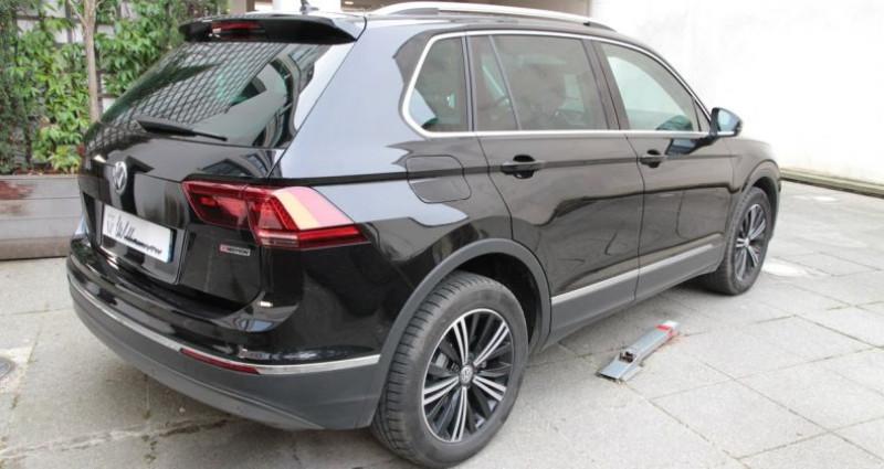 Volkswagen Tiguan carrat 150 motion iii Noir occasion à Neuilly Sur Seine - photo n°4