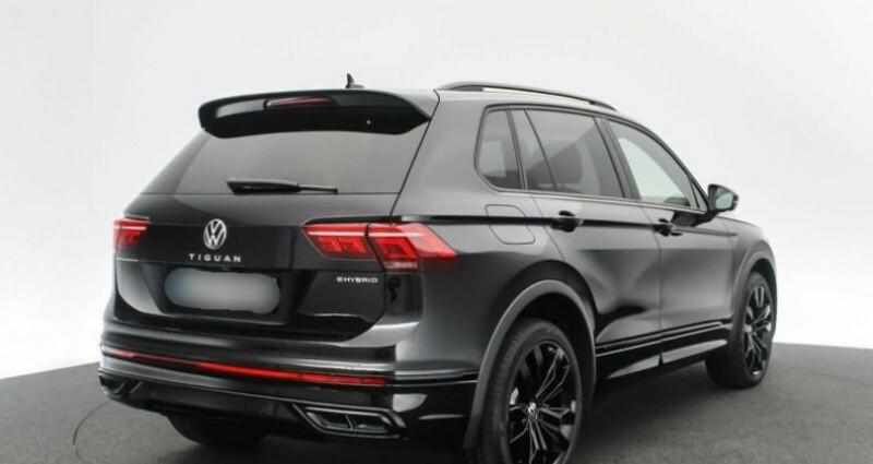 Volkswagen Tiguan eHybrid R-Line 1,4 DSG Noir occasion à Boulogne-Billancourt - photo n°2