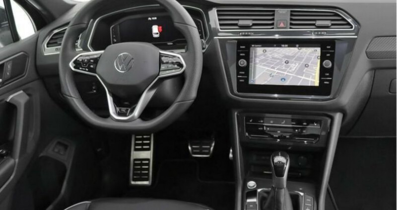 Volkswagen Tiguan eHybrid R-Line 1,4 DSG Noir occasion à Boulogne-Billancourt - photo n°6