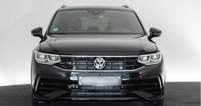 Volkswagen Tiguan eHybrid R-Line 1,4 DSG Noir occasion à Boulogne-Billancourt - photo n°4