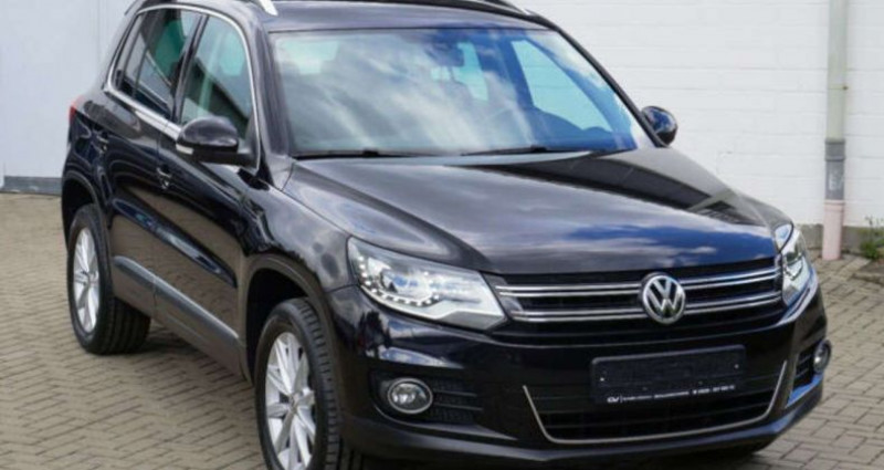 Volkswagen Tiguan Sport & Style 2.0 tdi 140ch Noir occasion à LANESTER - photo n°3