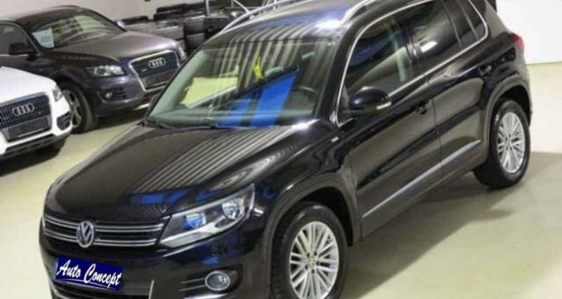 Volkswagen Tiguan TDI 2.0 140ch Noir occasion à LANESTER