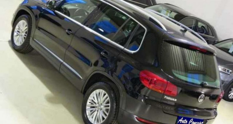 Volkswagen Tiguan TDI 2.0 140ch Noir occasion à LANESTER - photo n°5