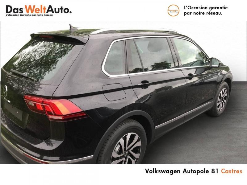 Volkswagen Tiguan Tiguan 2.0 TDI 150 DSG7 Active 5p Noir occasion à Castres - photo n°3