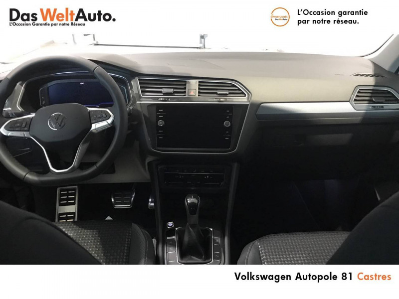 Volkswagen Tiguan Tiguan 2.0 TDI 150 DSG7 Active 5p Noir occasion à Castres - photo n°5