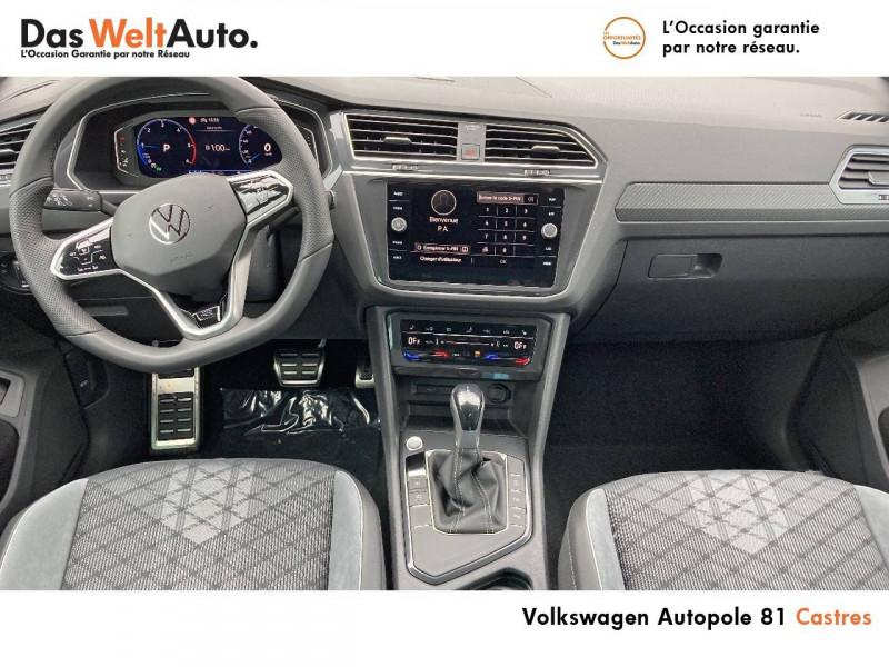 Volkswagen Tiguan Tiguan 2.0 TDI 150ch DSG7 R-Line 5p Noir occasion à Castres - photo n°5