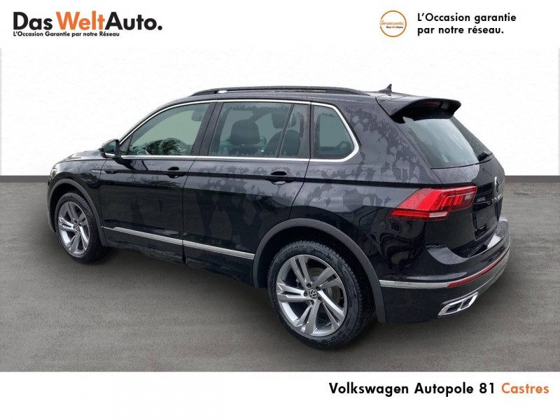 Volkswagen Tiguan Tiguan 2.0 TDI 150ch DSG7 R-Line 5p Noir occasion à Castres - photo n°4