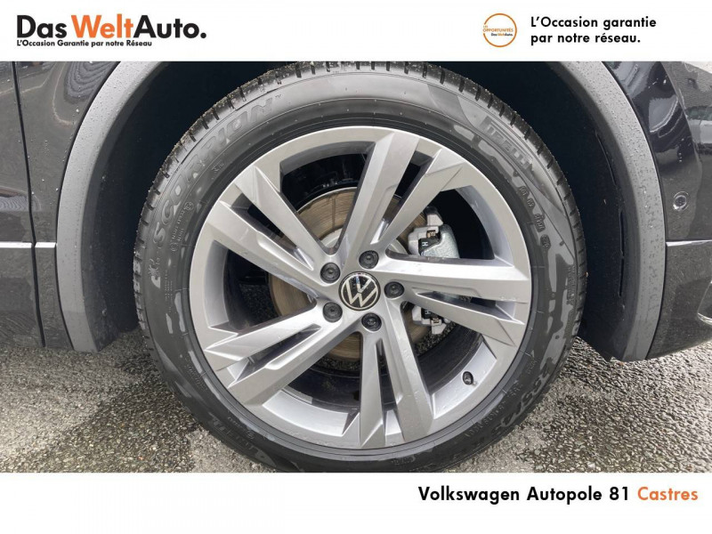 Volkswagen Tiguan Tiguan 2.0 TDI 150ch DSG7 R-Line 5p Noir occasion à Castres - photo n°9