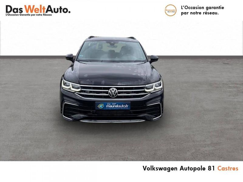 Volkswagen Tiguan Tiguan 2.0 TDI 150ch DSG7 R-Line 5p Noir occasion à Castres - photo n°2