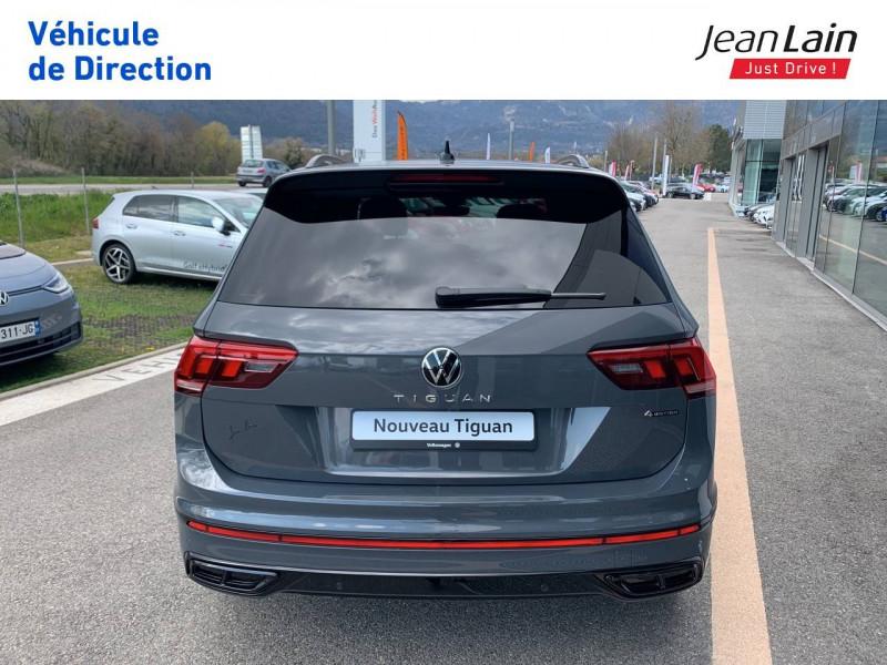 Volkswagen Tiguan Tiguan 2.0 TDI 200 DSG7 4Motion R-Line 5p Gris occasion à Cessy - photo n°6