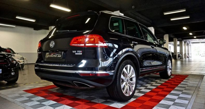 Volkswagen Touareg 3.0 TDi 262 Carat Edition 2015 Noir occasion à SAINT-CLAUDE - photo n°2