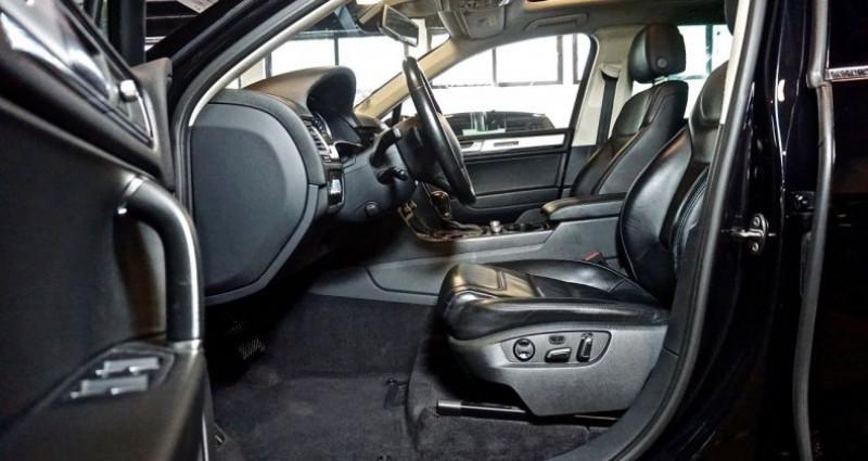 Volkswagen Touareg 3.0 TDi 262 Carat Edition 2015 Noir occasion à SAINT-CLAUDE - photo n°6