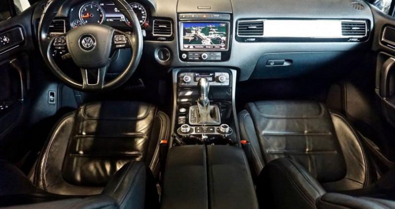 Volkswagen Touareg 3.0 TDi 262 Carat Edition 2015 Noir occasion à SAINT-CLAUDE - photo n°3