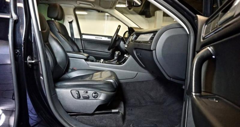 Volkswagen Touareg 3.0 TDi 262 Carat Edition 2015 Noir occasion à SAINT-CLAUDE - photo n°4