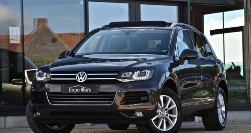 Volkswagen Touareg 3.0 V6 - PANO DAK - 360°CAMERA - TREKHAAK - MEMORY - GPS - Gris occasion à Roeselare