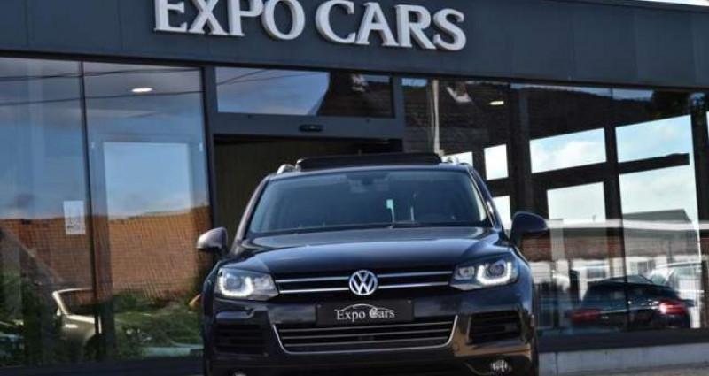 Volkswagen Touareg 3.0 V6 - PANO DAK - 360°CAMERA - TREKHAAK - MEMORY - GPS - Gris occasion à Roeselare - photo n°2
