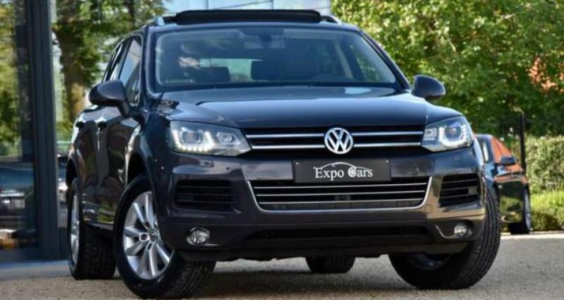Volkswagen Touareg 3.0 V6 - PANO DAK - 360°CAMERA - TREKHAAK - MEMORY - GPS - Gris occasion à Roeselare - photo n°3