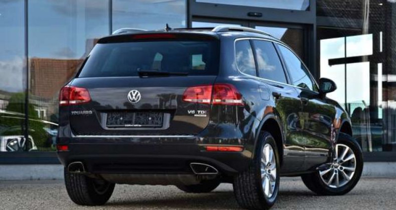 Volkswagen Touareg 3.0 V6 - PANO DAK - 360°CAMERA - TREKHAAK - MEMORY - GPS - Gris occasion à Roeselare - photo n°4