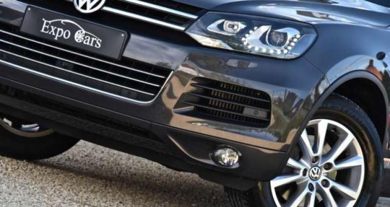 Volkswagen Touareg 3.0 V6 - PANO DAK - 360°CAMERA - TREKHAAK - MEMORY - GPS - Gris occasion à Roeselare - photo n°6