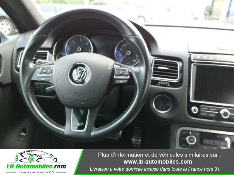Volkswagen Touareg 3.0 V6 TDI 262 FAP 4Motion Bleu occasion à Beaupuy - photo n°2