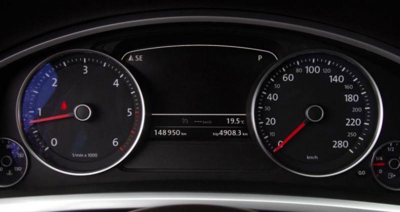 Volkswagen Touareg II 3.0 V6 TDI 204 R-EXCLUSIVE TIPTRONIC Noir occasion à Chambourcy - photo n°5
