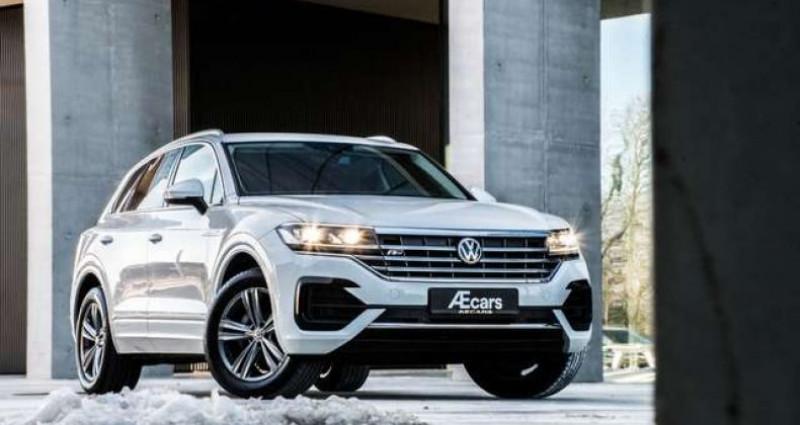 Volkswagen Touareg R-LINE - 3.0 V6 TDI - 4 MOTION - PDC - GPS Blanc occasion à IZEGEM