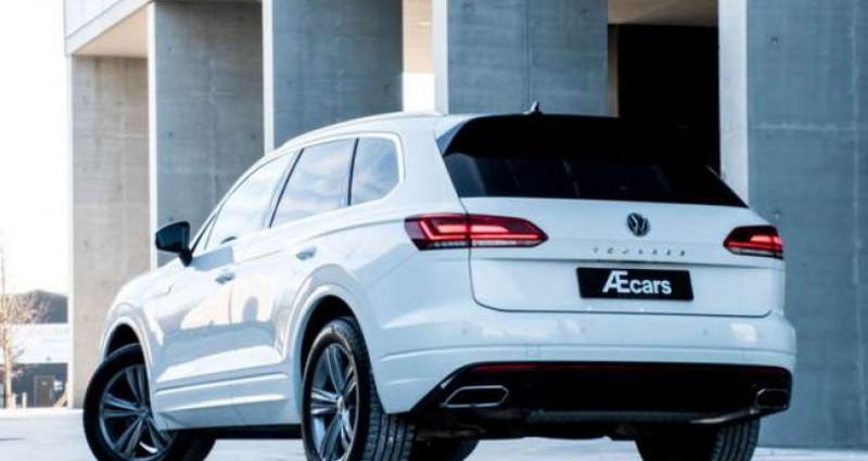 Volkswagen Touareg R-LINE - 3.0 V6 TDI - 4 MOTION - PDC - GPS Blanc occasion à IZEGEM - photo n°6