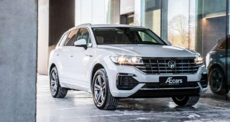 Volkswagen Touareg R-LINE - 3.0 V6 TDI - 4 MOTION - PDC - GPS Blanc occasion à IZEGEM - photo n°7