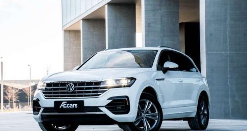 Volkswagen Touareg R-LINE - 3.0 V6 TDI - 4 MOTION - PDC - GPS Blanc occasion à IZEGEM - photo n°5