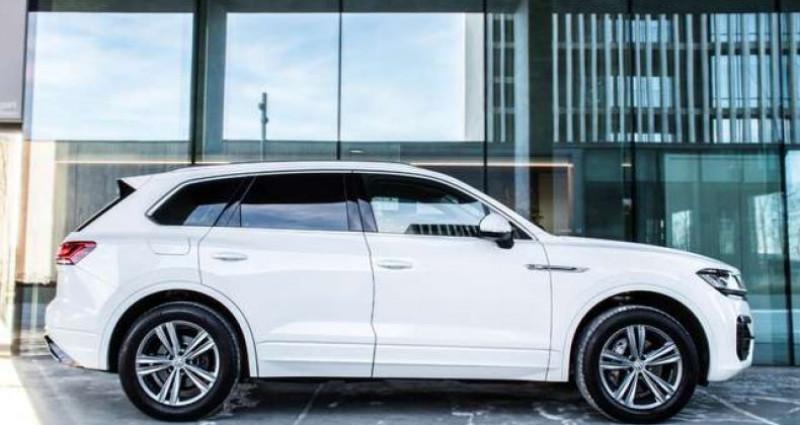 Volkswagen Touareg R-LINE - 3.0 V6 TDI - 4 MOTION - PDC - GPS Blanc occasion à IZEGEM - photo n°3