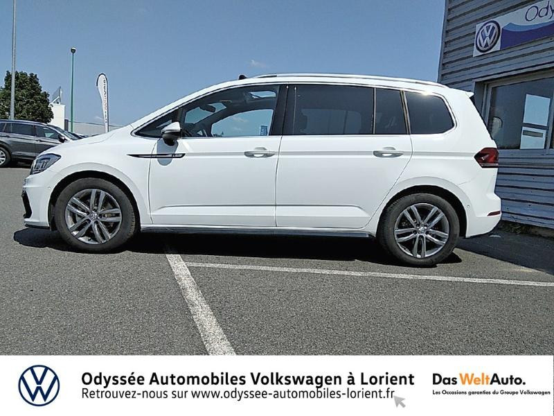 Volkswagen Touran 1.5 TSI EV 150ch Carat 7 places Blanc occasion à Lanester - photo n°2