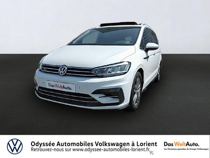 Volkswagen Touran 1.5 TSI EV 150ch Carat 7 places Blanc occasion à Lanester