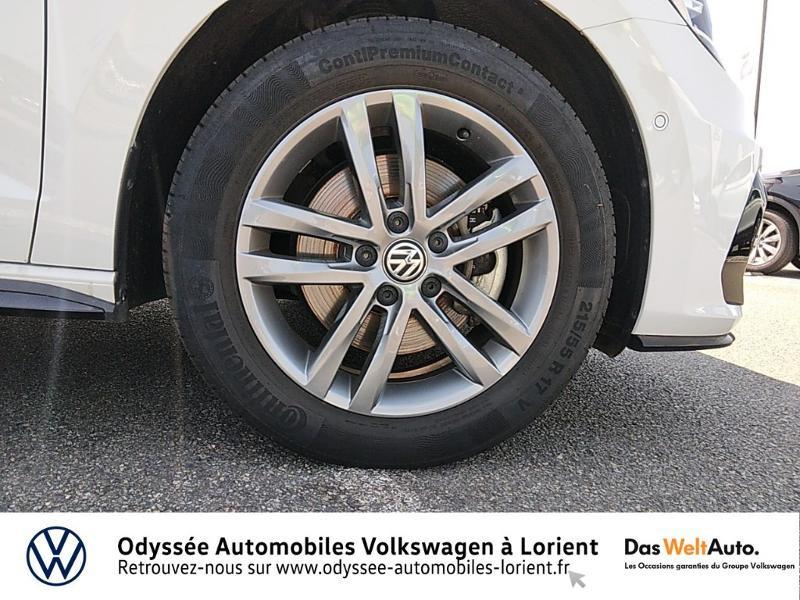 Volkswagen Touran 1.5 TSI EV 150ch Carat 7 places Blanc occasion à Lanester - photo n°17