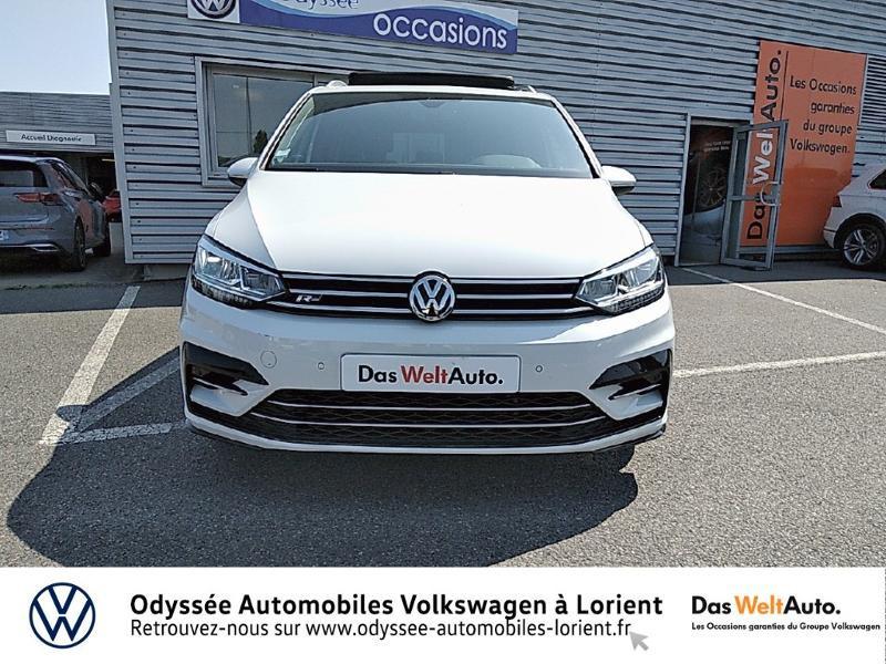 Volkswagen Touran 1.5 TSI EV 150ch Carat 7 places Blanc occasion à Lanester - photo n°5