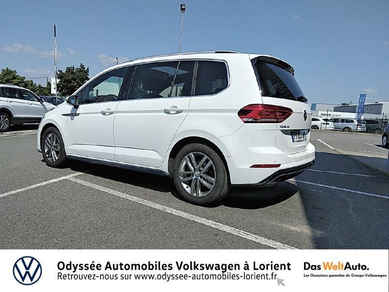 Volkswagen Touran 1.5 TSI EV 150ch Carat 7 places Blanc occasion à Lanester - photo n°3