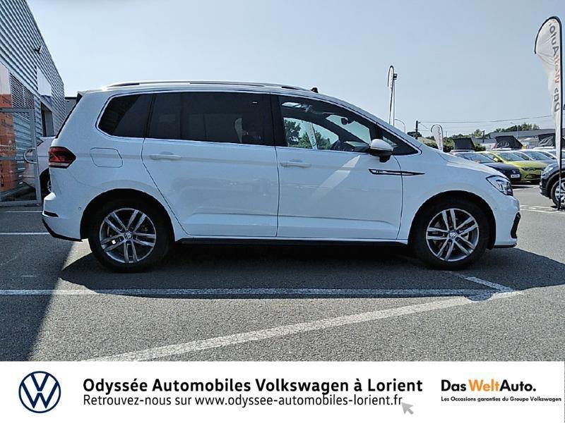 Volkswagen Touran 1.5 TSI EV 150ch Carat 7 places Blanc occasion à Lanester - photo n°4