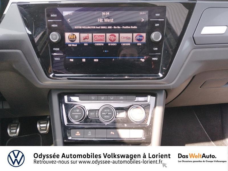 Volkswagen Touran 1.5 TSI EV 150ch Carat 7 places Blanc occasion à Lanester - photo n°7
