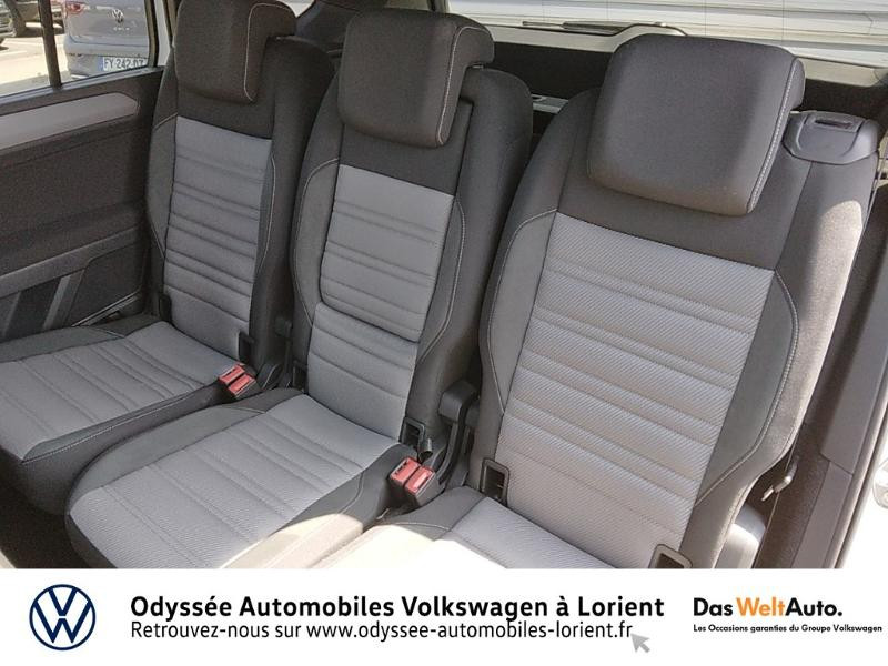 Volkswagen Touran 1.5 TSI EV 150ch Carat 7 places Blanc occasion à Lanester - photo n°10