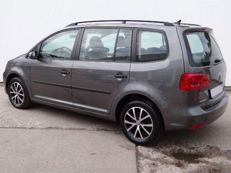 Volkswagen Touran 1.6 TDI 105 DSG Gris occasion à Beaupuy - photo n°3